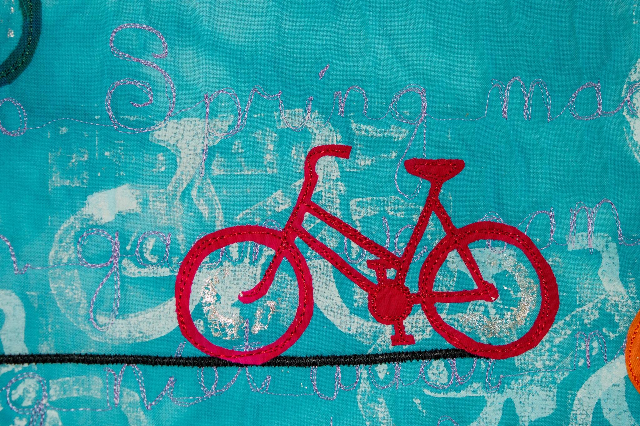 Heel Holland fietst detail